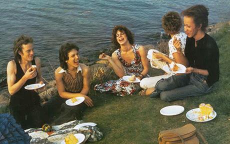 Picnic on the Esplanade, Boston, 1973